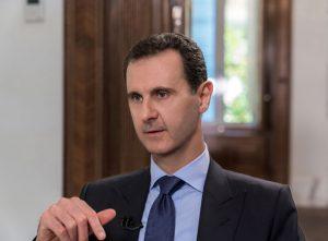 SYRIE 6 --- President-al-Assad-Interview-5-300x221