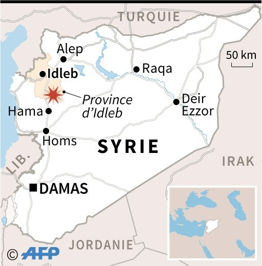 SYRIE Localisation-combats-meurtriers-opposant-forces-regime-syrien-combattants-jihadistes-rebelles-peripherie-province-Idleb_1_512_520