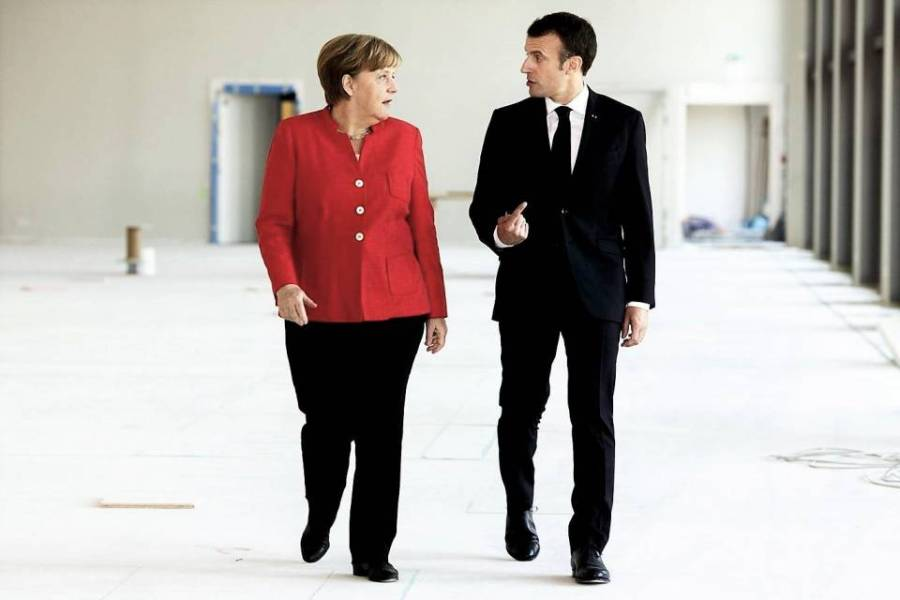 UE Merkel-Macron