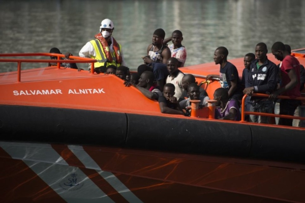 SPAIN-EU-MIGRANTS-RESCUE