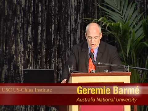 AUSTRALIE Gérémie Barmé,