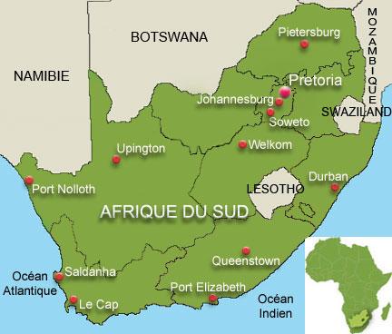 carte l_ancien Swaziland, afrique_du_sud_432