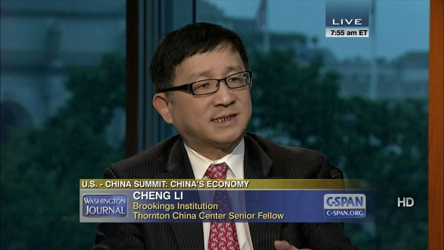 CHINE is director of the John L. Thornton China Center20130607075556001_hd