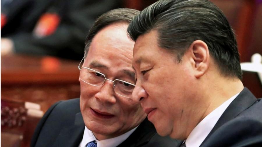 Chine Wang Qishan avec Xi Jinping b72226f6-b565-11e7-95c2-e7a557915c7a_1280x720_155909