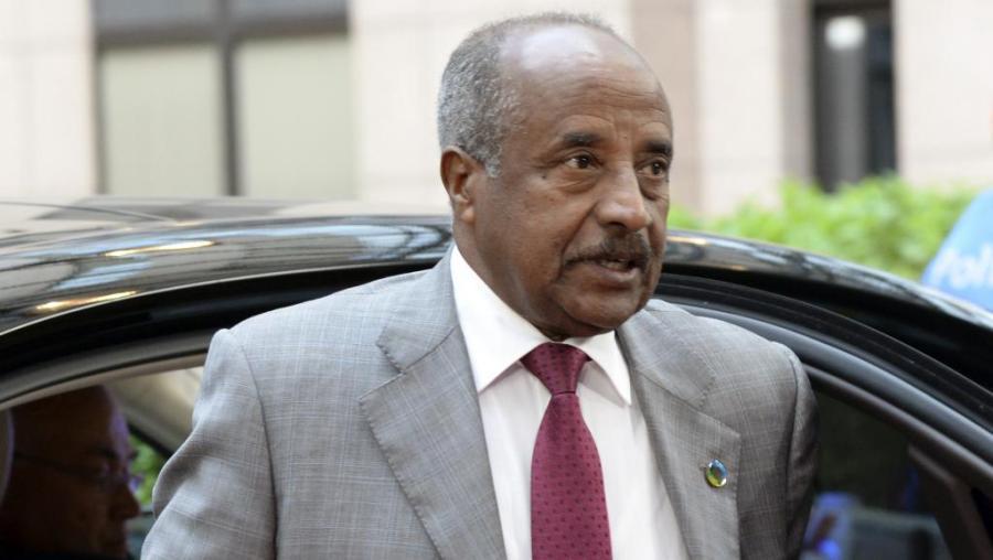 ERYTHREE Le Ministre des Affaires étrangères de l_Érythrée Osman Saleh 000_par7843204_0