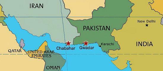 Pakistan-Iran-ports