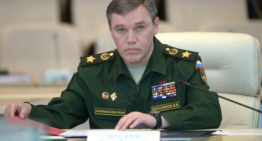russie le général Valeri Guerassimov1017400774