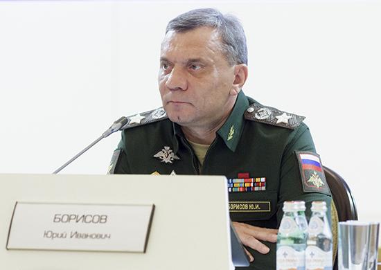 RUSSIE Yuri Borissov, président de la partie russe de la Commission intergouvernementale et vice-Premier ministre russe20161123-018-550