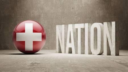 SUISSE 27270565-suisse-nation-concept