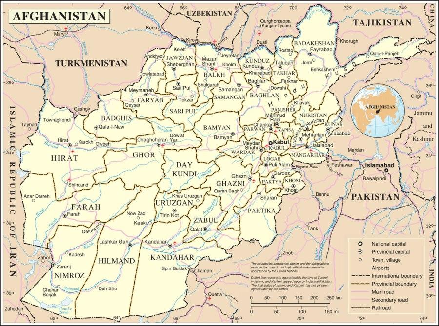 carte-afghanistan
