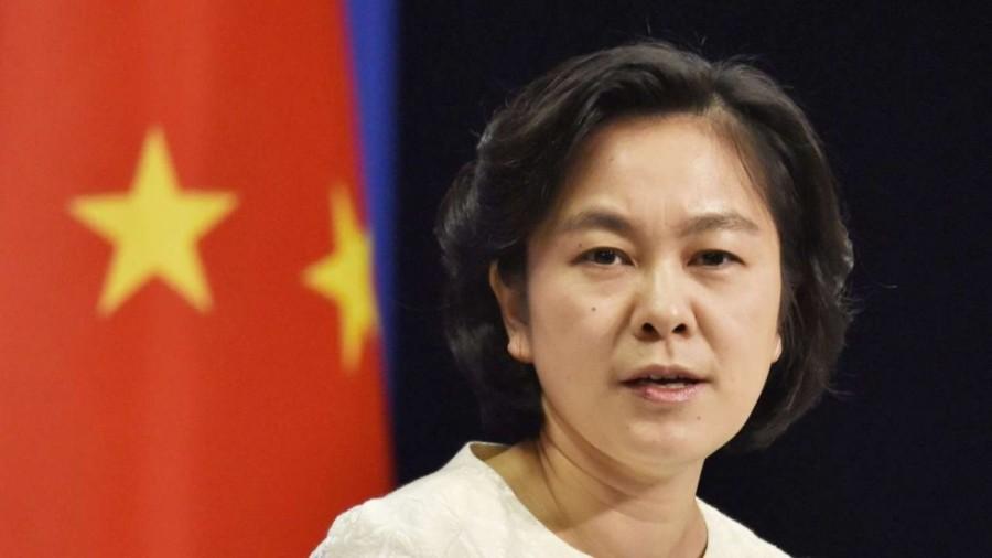 chine ministère affaires etrangères Hua-Chunying
