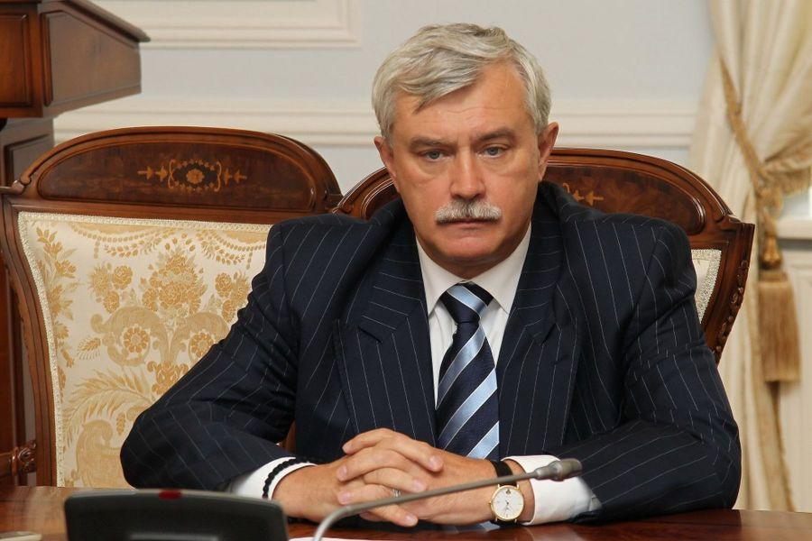 russie le Gouverneur de Saint-Pétersbourg Gueorgui Poltavtchenko poltavtchenko