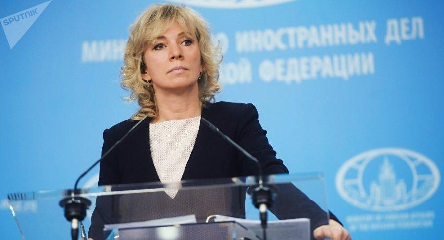 RUSSIE Maria Zakharova1035964291