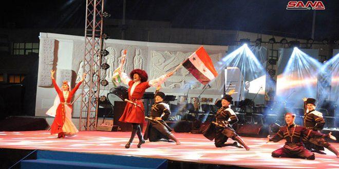 syrie l'ouverture officielle de la 60e Foire internationale annuelle de Damas11-5