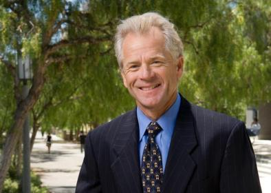 UC Irvine business professor Peter Navarro is acting as an economics adviser to the campaign of Republican presidential nominee Donald Trump.