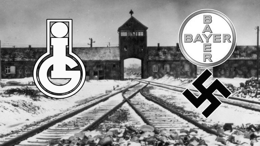 ALLEMAGNE ig-farben-nazi-Bayer-Monsanto