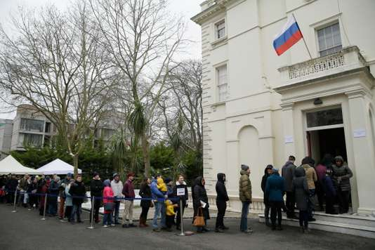 Britain Russia Presidential Election