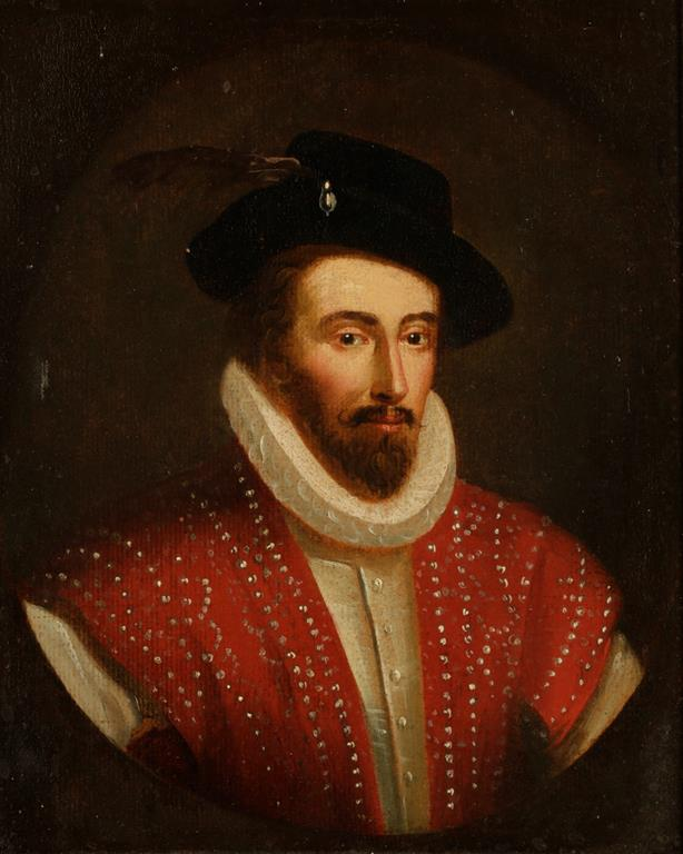 angleterre Portrait of Sir Walter Raleigh 1554 - 1618
