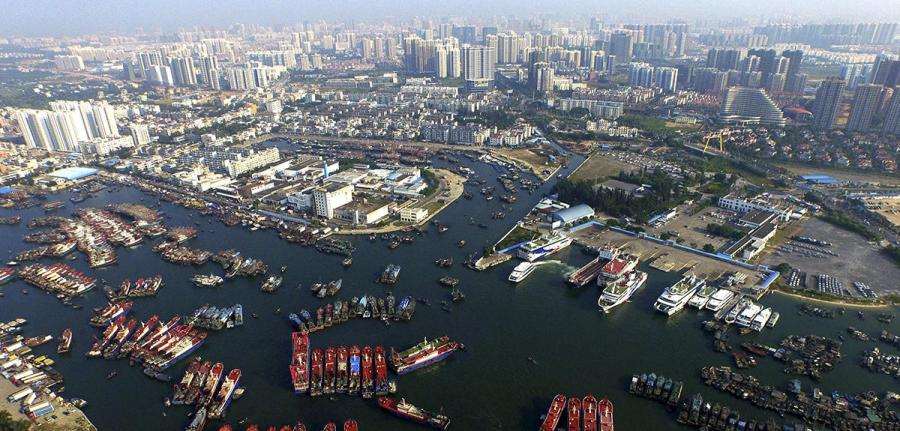 CHINA-BEIHAI-MARINE SILK ROAD-PORT (CN)