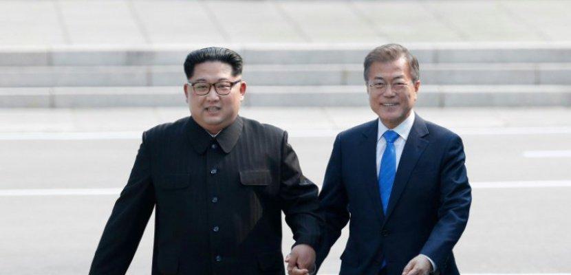 coree Le président de la Corée du Sud Moon Jae-in et coree du nord 508047