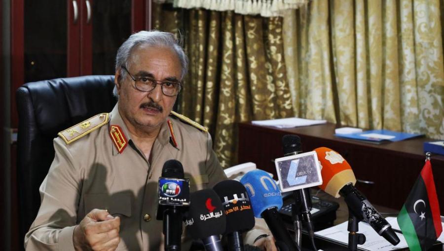 LIBYE 2014-05-24_Khalifa Haftar_LIBYA-VIOLENCE_0
