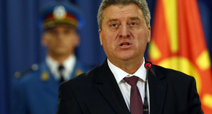 MACEDOINE le Président Gjorge Ivanov1049400672