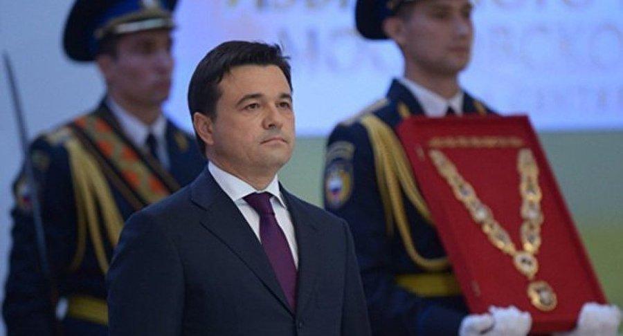RUSSIE Andrei Vorobiev gouverneur de la région de Moscou1022669566