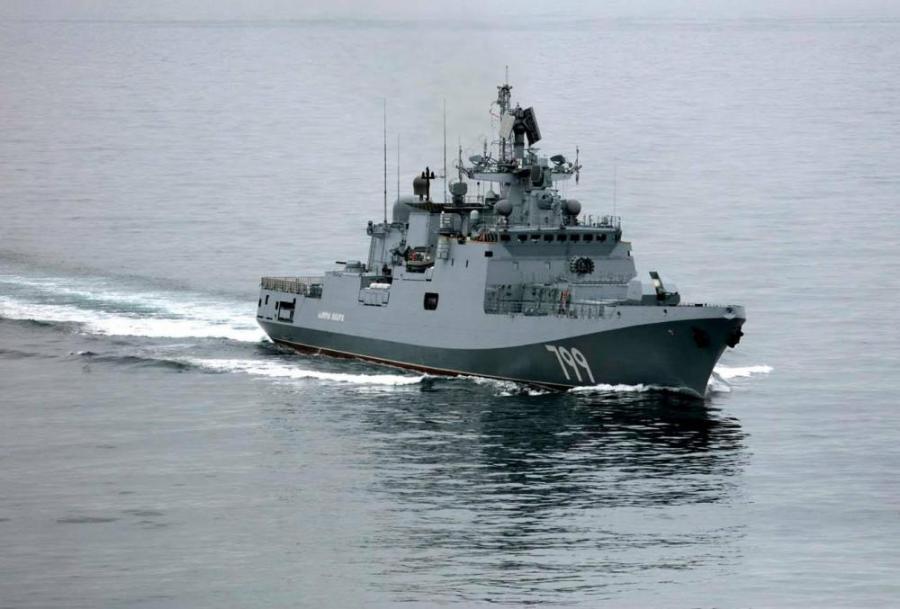 RUSSIE la frégate Amiral Essen de la Flotte russe de la mer Noire mak_0