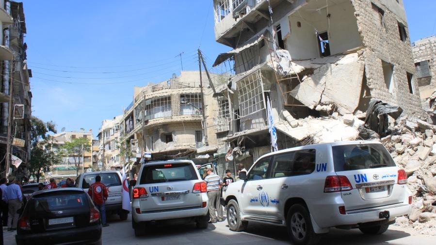 syrie Comment acheminer des kits d'aide médicale à Alep 201305201430490338