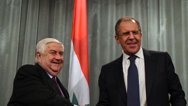 SYRIE le-chef-de-la-diplomatie-syrien-walid-mouallem-g-et-son-homologue-russe-serguei-lavrov-a-moscou-le-27-novembre-2015_5472002