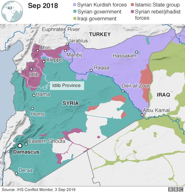 SYRIE SEPTEMBRE 2018 idlib1