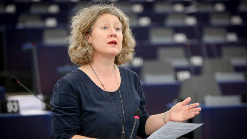 UE Judith Sargentini speaks in plenary. [European Parliament Judith-Sargentini-1-800x450
