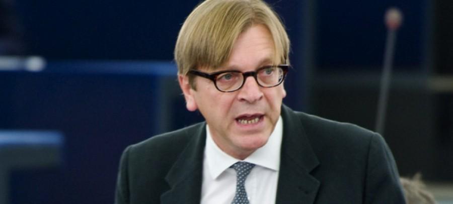 UE Verhofstadt BELGE M. Verhofstadt