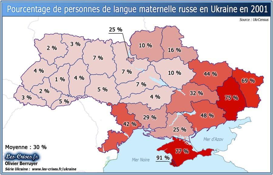 UKRAINE PARLANT RUSSE 13-pourcentage-langue-maternelle-russe-regions-ukraine