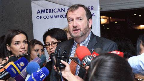 USA 2018 Richard Mills, ambassadeur américain en Arménie posol-ssha-v-armenii