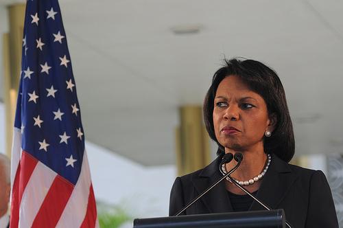 USA Condoleezza Rice était à l_époque secrétaire d_État11792652283_7a1b3dd4c1