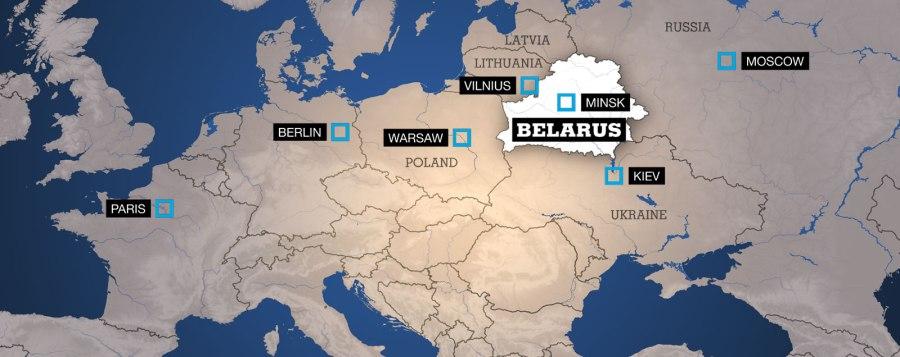 BELARUS carte
