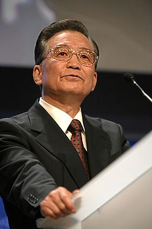 CHINE Wen Jiabao en 2009. 220px-Wen_Jiabao_-_World_Economic_Forum_Annual_Meeting_2009