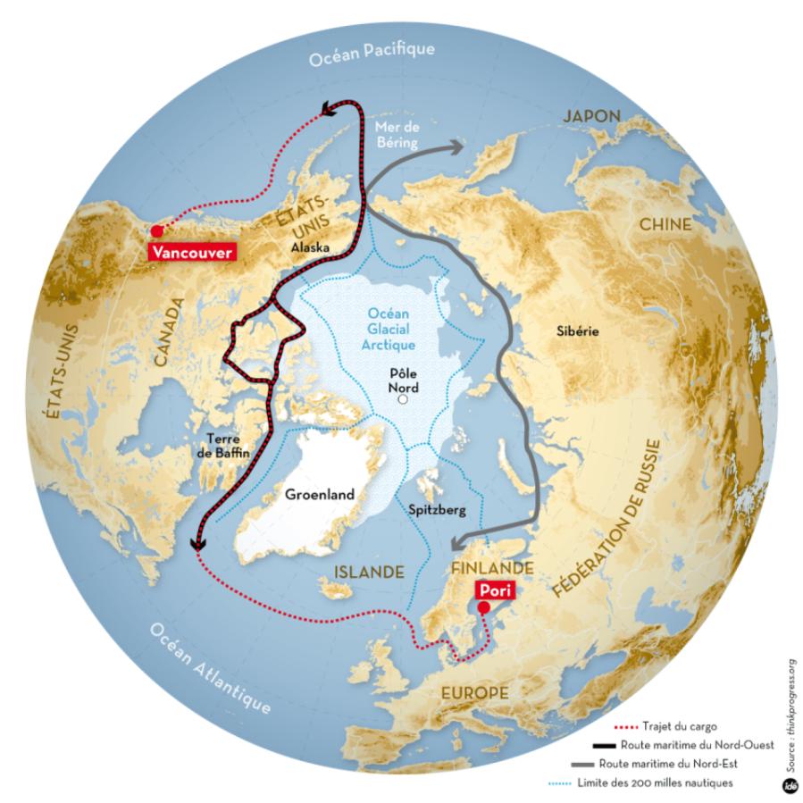 ISALANDE en-rouge-la-route-suivie-par-le-nordic-orion-e