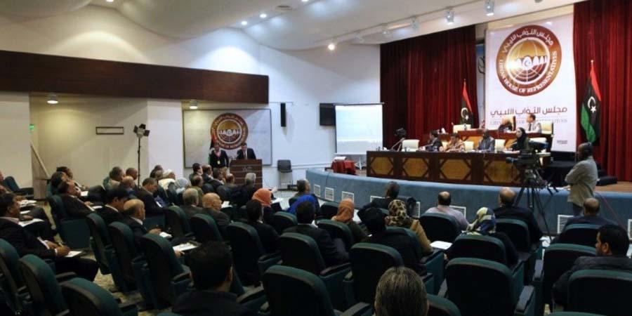 LIBYE Parlement-liby L'Assemblée constituante rejetée par le Parlement libyen. D. R.