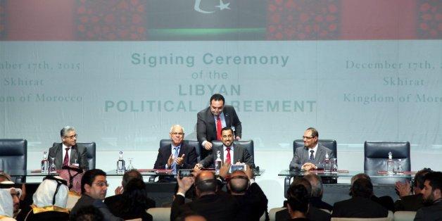 libye Skhirat Signature sous l'égide de l'ONU d'un accord interlibyen n-LIBYE-ACCORD-628x314