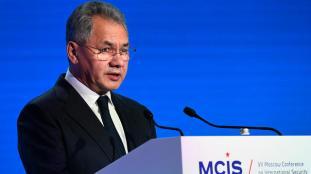 RUSSIE le Ministre russe de la Défense Sergueï Choïgou 000_13o5c8_0