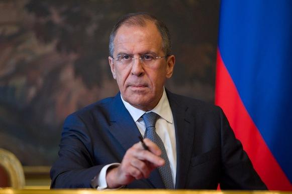 RUSSIE le Ministre russe des Affaires étrangères Sergueï Lavrov192144