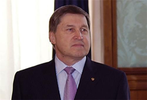 RUSSIE Russian-president-aide-Yury-Ushakov
