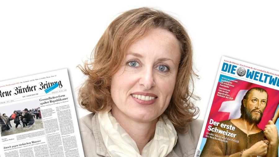 SUISSE Katharina Fontana, juriste nzz-weltwoche