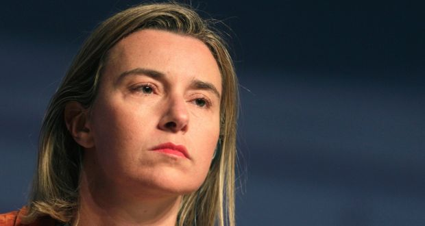 UE Federica Mogheriniimage