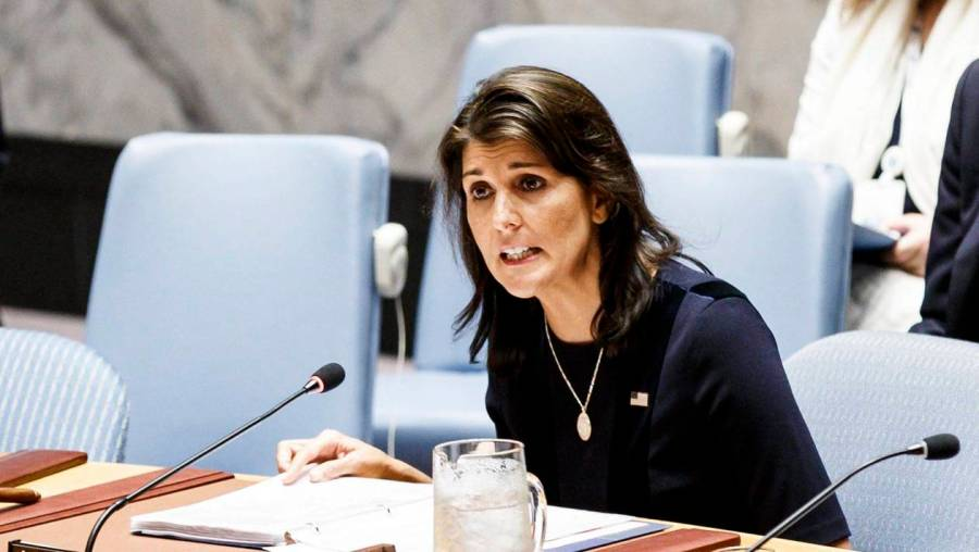 US ambassador to the United Nations, Haley, resigns