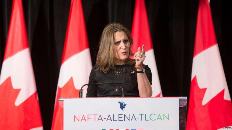 CANADA Chrystia Freeland, la ministre canadienne des Affaires étrangères 33E422D5-57D7-4E4E-B9DD-D8AAF924415F_w1023_r1_s
