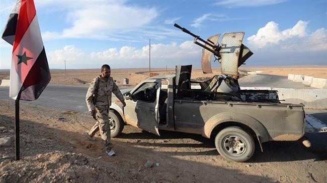 SYRIE 16.12.2018 Les forces syriennes ont libéré plusieurs localités du Rif est et nord-est de Soueïdade63dd12-fae3-4690-a64f-76c59b48b2a3