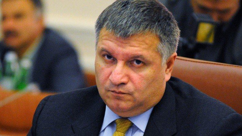 UKRAINE Le ministre de l'Intérieur Arsen Avakov 551a7c5c71139e020b8b45d3